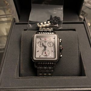 authentic Brand New Michele Deco watch
